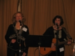 Carole Demas and Paula Rosen Janis entertaining